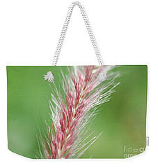Weekender Tote Bag featuring the photograph Pretty In Pink by Bianca Nadeau