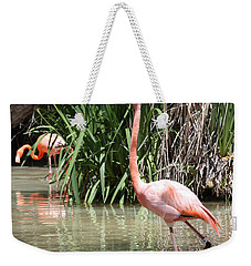 Pretty In Pink Weekender Tote Bag by John Telfer