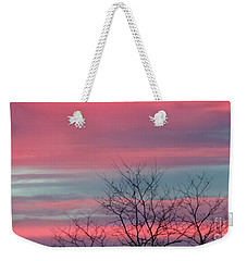 Pretty In Pink Sunrise Weekender Tote Bag