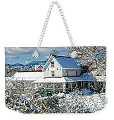 Pretty In White Weekender Tote Bag by Kenny Francis