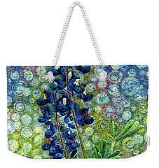 Pretty In Blue Weekender Tote Bag