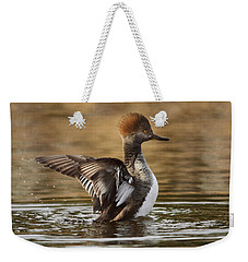 Pretty Little Redhead Weekender Tote Bag by Susan Capuano
