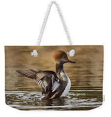 Pretty Little Redhead Weekender Tote Bag
