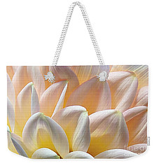 Pretty Pastel Petal Patterns Weekender Tote Bag by Kaye Menner