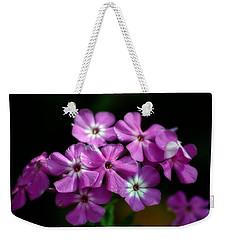 Pretty Purple Weekender Tote Bag