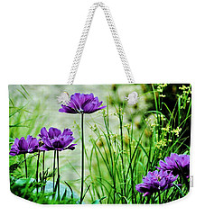 Pretty Purple Weekender Tote Bag