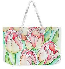 Pretty Tulips Weekender Tote Bag