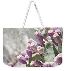 Prickly Pear Cacti Weekender Tote Bag by Andrea Hazel Ihlefeld