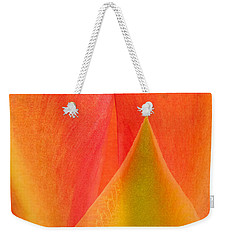 Weekender Tote Bag featuring the photograph Prickly Pear Flower Petals Opuntia Lindheimeni In Texas by Dave Welling