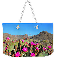 Prickly Pear In Spring Weekender Tote Bag