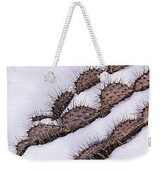 Prickly Pear On Ice Weekender Tote Bag