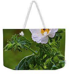 Prickly Poppy Weekender Tote Bag