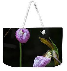 Prince Edward Island Lady Slippers Weekender Tote Bag by Verena Matthew
