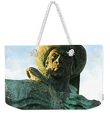 Weekender Tote Bag featuring the photograph Prince Henry The Navigator by Kathy Barney