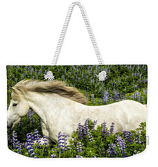 Prince Of The Lupine Weekender Tote Bag by Joan Davis