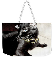 Weekender Tote Bag featuring the photograph Princess Lucy by Pennie  McCracken
