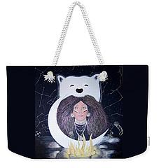 Princess Moon Weekender Tote Bag