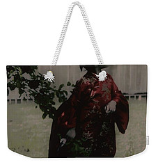 Weekender Tote Bag featuring the photograph Princess Of Tranquility  by Jessica Shelton