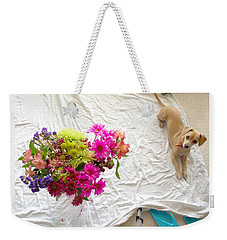 Princess On Assignment Weekender Tote Bag