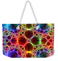 Prism Bubbles Weekender Tote Bag by Tammy Wetzel
