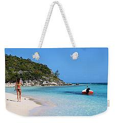 Private Beach Bahamas Weekender Tote Bag
