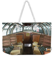 Private Dome Rail Car  Weekender Tote Bag