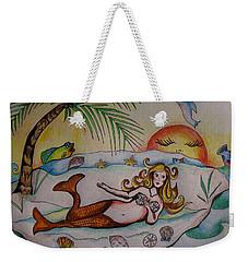 Private Paradise Weekender Tote Bag