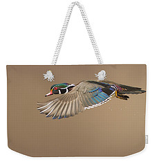 Probably The Most Beautiful Of All Duck Species Weekender Tote Bag