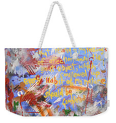 Feeling's Of Affection Weekender Tote Bag