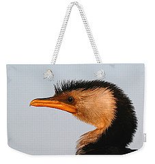 Profile Of A Young Cormorant Weekender Tote Bag