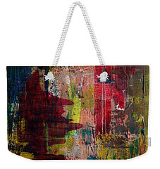 Weekender Tote Bag featuring the painting Progression by Jocelyn Friis
