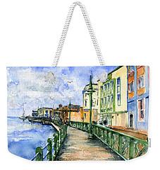 Promenade In Barbados Weekender Tote Bag