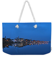 Promenade In Blue  Weekender Tote Bag by Spikey Mouse Photography