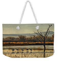 Promenade Of The Cranes Weekender Tote Bag
