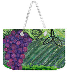 Prophetic Message Sketch 18 Vineyard Infinity Trinity Weekender Tote Bag