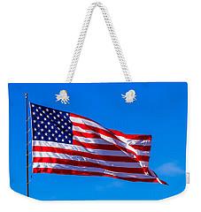 Proud And Free Weekender Tote Bag by Doug Long