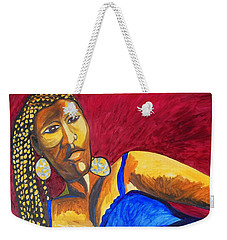 Proud Sheruba Ethiopian Braids Weekender Tote Bag by Esther Newman-Cohen