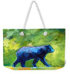 Prowling Weekender Tote Bag by Nancy Merkle
