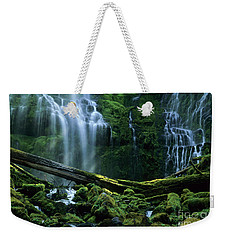 Proxy Falls Weekender Tote Bag by Bob Christopher