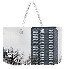 Prudential Tower Weekender Tote Bag