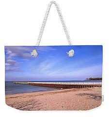 Prybil Beach Pier Weekender Tote Bag