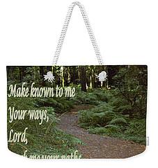 Psalm  - Paths Weekender Tote Bag