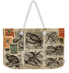 Psittacus Weekender Tote Bag by Carol Leigh