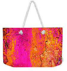 Weekender Tote Bag featuring the digital art Psychedelic Flashback - Late 1960s by Absinthe Art By Michelle LeAnn Scott