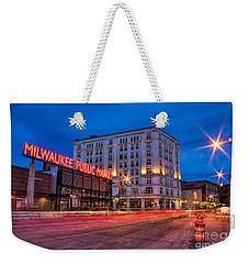 Public Market Zip Weekender Tote Bag