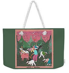 Puebla Mexico Compesinos Weekender Tote Bag by Peter Gumaer Ogden
