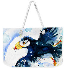 Puffin Flight Weekender Tote Bag
