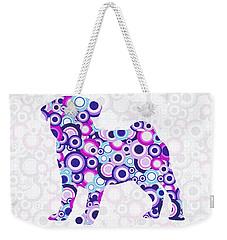 Pug - Animal Art Weekender Tote Bag