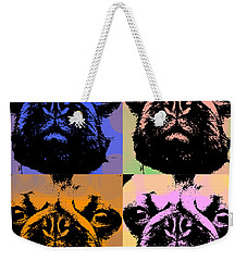 Pug Pop Art Weekender Tote Bag