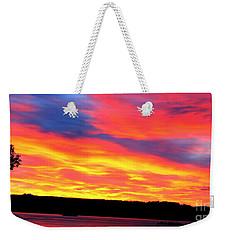 Puget Sound Colors Weekender Tote Bag